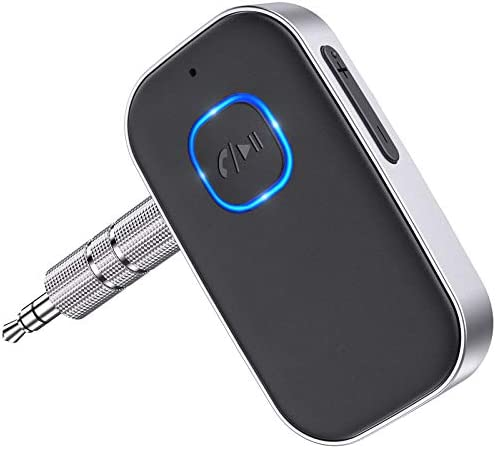 2021 Upgraded COMSOON Bluetooth 5 0 Receiver for Car Noise Cancelling Bluetooth AUX Adapter product image