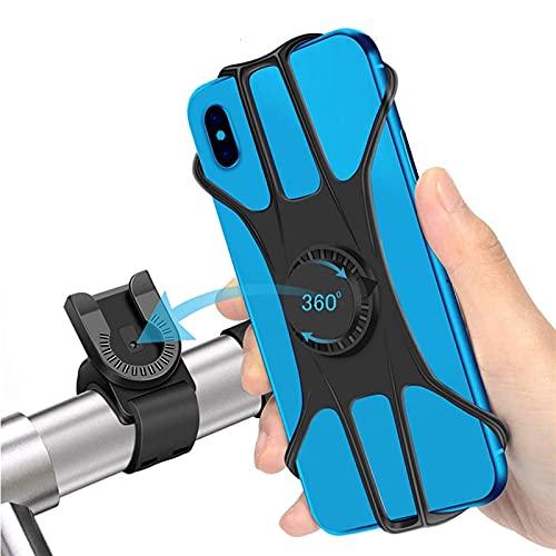 Soporte Movil Bicicleta Tenedor de Bicicleta Giratorio de 360 Grados Teléfono Celular Universal Mountain Bike Motorcycle MTB MANDERBAR MOUNTE Cradle para TELÉFONO Soporte para Movil Bicicleta