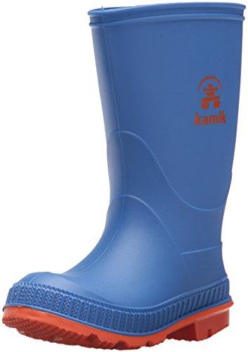 Kamik Stomp, Stivali di Gomma Bambino, Blau (Blue/Orange), 23
