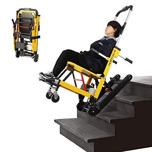 SED Leichte Trolley-Zusatzrollstühle Selbstfahrende Rollstühle Zusammenklappbarer Kompakter Elektrorollstuhl Mobiler Treppensteiger Einstellbarer Gehassistent Dienstwagen