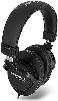 Marantz MPH-1 On-Ear 3.5mm Wired Professional Studio Headphones