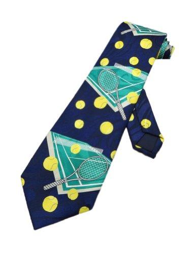 Parquet Mens Ten Commandments Tablet Bible Necktie-Navy Blue-One Size Neck Tie