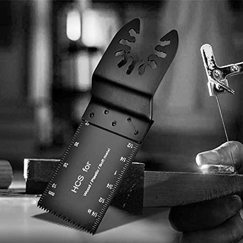 Hojas oscilantes multiherramientas Gran selección Hoja de sierra oscilante bimetálica 10 piezas para cortar madera