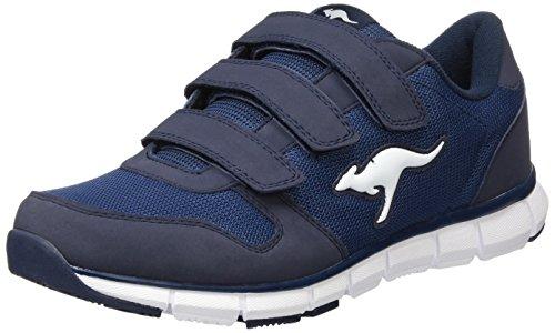 KangaROOS Unisex-Erwachsene K-BlueRun 701 B Sneaker, Dark Navy/Mid Grey 0423, 47 EU