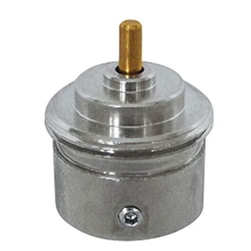 Eurotronic Giacomini 700105 - Adaptador de metal para termostatos electrónicos de radiador