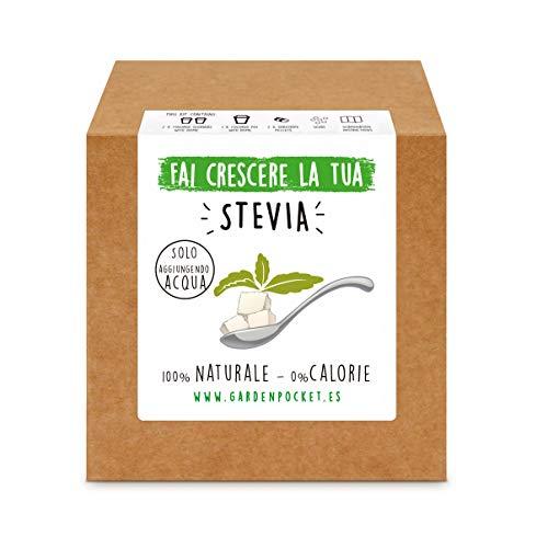 Garden Pocket - Fai crescere la tua STEVIA - Kit di germinazione