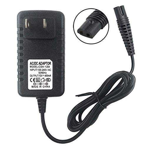 Braun Shaver Charger 12V Power Cord for Braun Series 7 9 3 5 1 Electric Razor Shaver Replacement Power Adapter for 720 760cc 790cc 740s 720s-4 7865cc 9090cc 9093 9095cc 3350cc-4 390cc 3040s 340s 370