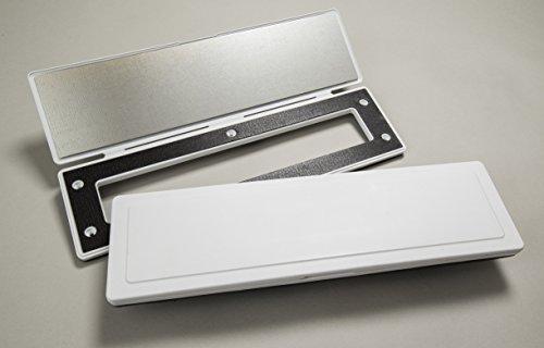 Magman Magflap Briefeinwurf / Briefklappe mit magnetischem Verschluss, in Weiß