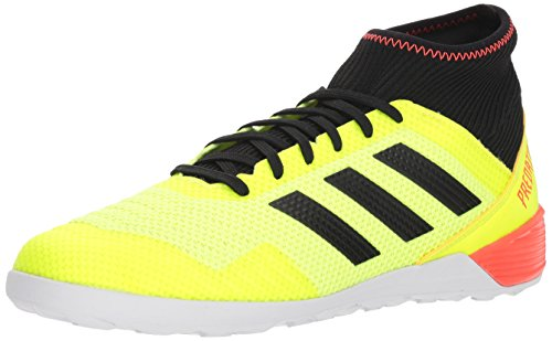 adidas Men's Predator Tango 18.3 in Soccer Shoe, Yellow/Black/Solar red, 9.5 M US