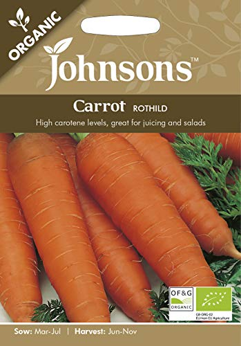 Johnsons UK/JO/VE Graines de carotte bio Rothild - 1
