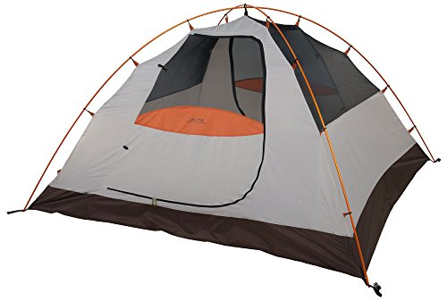 ALPS Mountaineering Lynx 4-Person Tent, Clay/Rust, Model:5424617