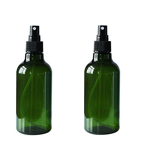 Flaconi spray vuoti, ricaricabili, 2pezzi da 250ml, in plastica, con tappo, per cosmetici, con nebulizzatore, anti-perdite, accessori portatili da viaggio