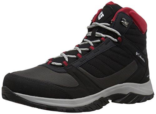 Columbia Terrebonne II Sport Mid Omni-Tech, Zapatos de High Rise Senderismo Hombre, Negro (Black, White 010), 50 EU