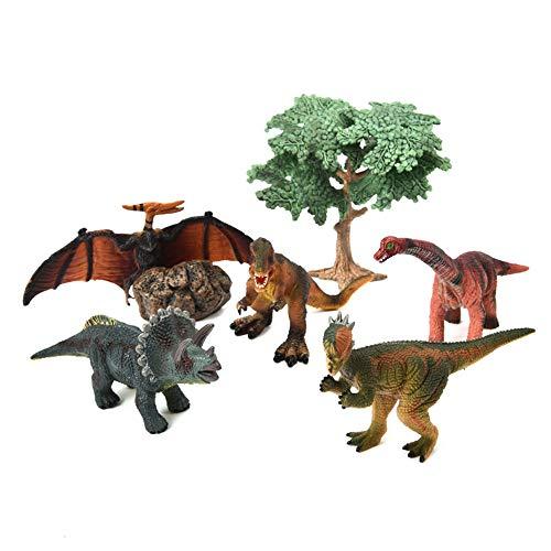 Nuoyi Dinosaurier Spielzeug Kind Overlord Drachenschwert Drachen Pterosaur Anzug Modell Fünf-teiliges Set Kunststoff Einteilige Form