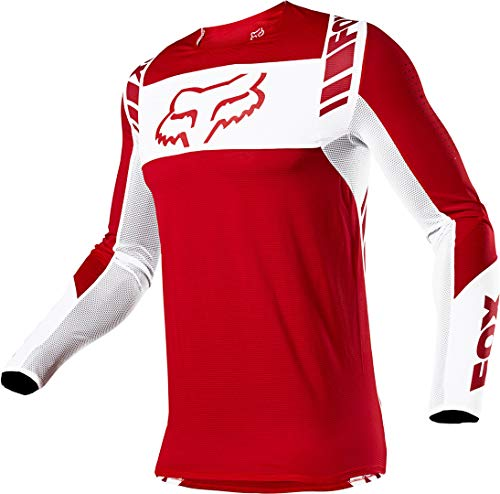 Fox Racing Flexair MACH ONE Jersey, Flame Red, Large