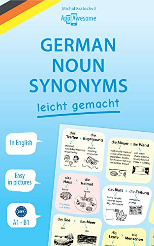 German Noun Synonyms Leicht Gemacht First Kindle Edition By Kratochvil Michal Reference Kindle Ebooks Amazon Com