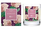 Wax Lyrical Hydrangea Scented Glass Candle - RHS Fragrant Garden Collection - Made in England