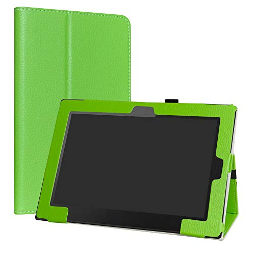 Lenovo Tablet 10 2018 Edition Custodia,LiuShan slim Sottile Pieghevole con supporto in Piedi caso per 10.1  Lenovo Tablet 10 (20L3 & 20L4 Series) 2018 Edition Tablet,Verde