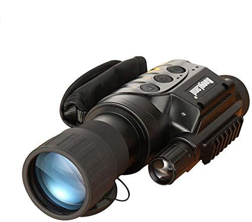 Telescopio Monocular de visión nocturna,visores digitales HD de visión nocturna 6X50,grabadora de visión nocturna por infrarrojos con función de grabación/reproducción de video,para exteriores/vigilan
