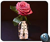 美しい花咲くパーソナライズされた長方形のマウスパッドファッション、印刷された滑り止めゴム快適なカスタマイズされたコンピューターマウスパッドファッションマウスマットマウスパッドファッション
