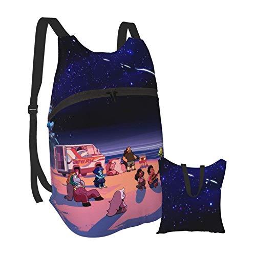 Steve_n Univer_se Faltbare tragbare Bapa Casual Leichte Tasche Wasserdichtes Hochleistungs-Reisecamping für Schüler Bapas