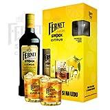 Fernet Stock Citrus Kräuterlikör Set inkl. 2x Original-Gläser