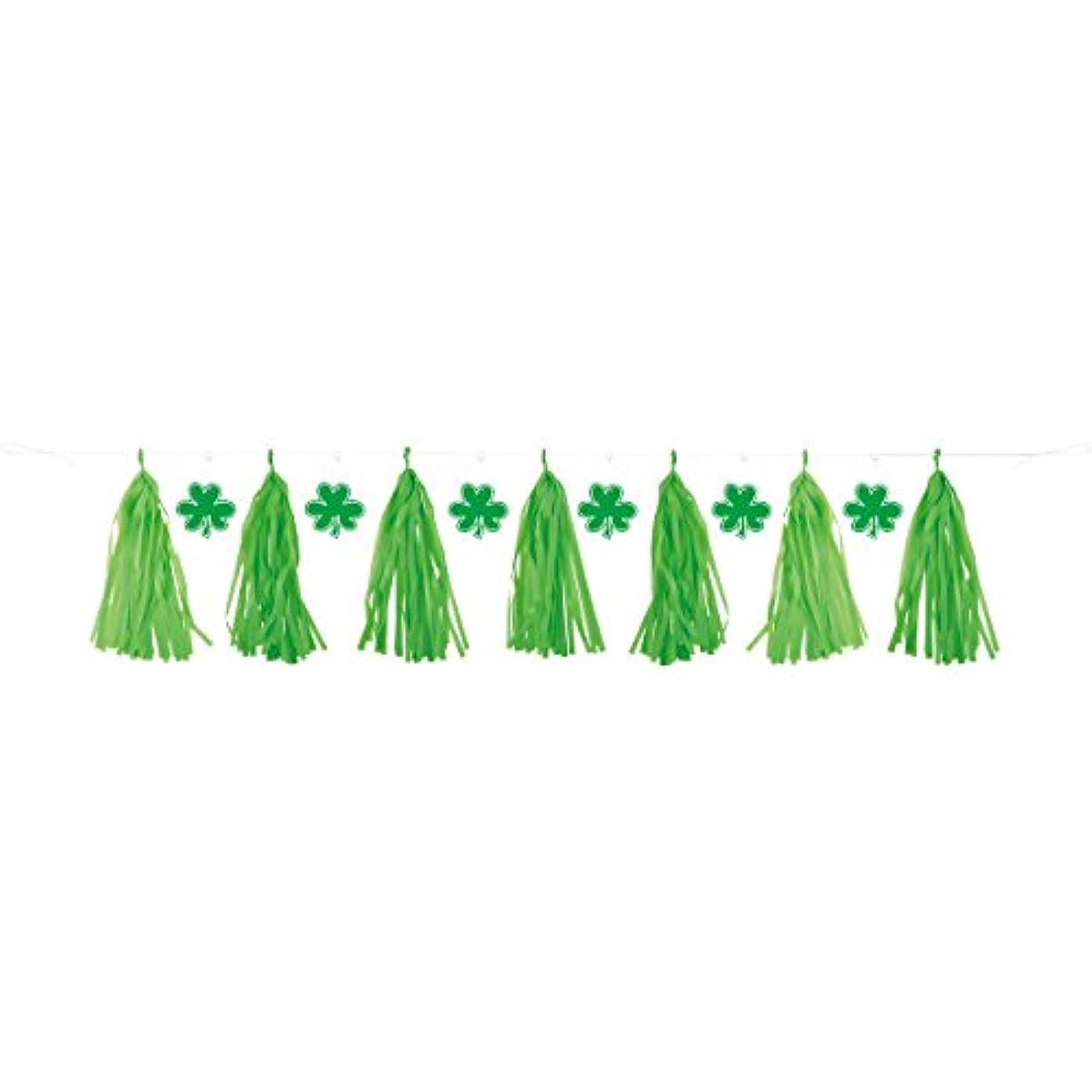 7ft Plastic St. Patrick's Day Tassel Garland