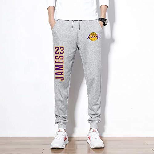 Lakers James Pants Mannen joggingbroek Broek, Outdoor Hiking-Broek, Spring Leisure Basketball Training Suit joggingbroek,C,XXXL