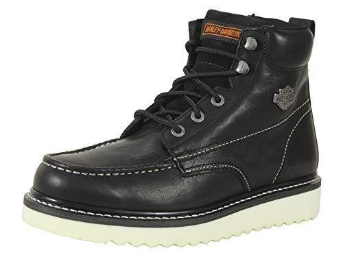 HARLEY-DAVIDSON FOOTWEAR mens Beau-m motorcycle boots, Black, 10.5 US