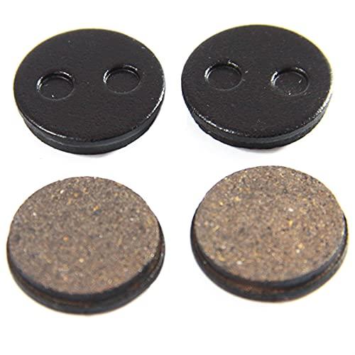Aouoihnb 4 Pares MTB Las Almohadillas de Freno de Disco de Bicicleta no Son fáciles de deformar adecuadas para YUS2-1 Velocidad