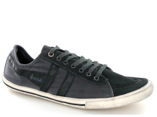 Gola Quota, Sneaker a Collo Basso Uomo, Nero Antracite, 44 EU
