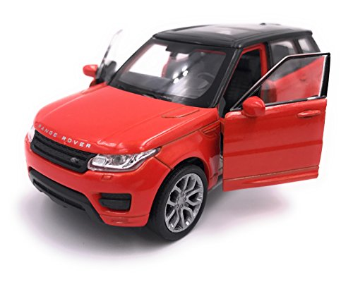 Welly Producto de Licencia de Auto Modelo Range Rover Sport Model 1: 34-1: 39 / Red