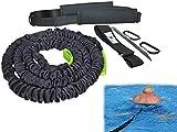 BodyCROSS Cinturón de natación | Entrenamiento óptimo de natación para Cualquier Piscina