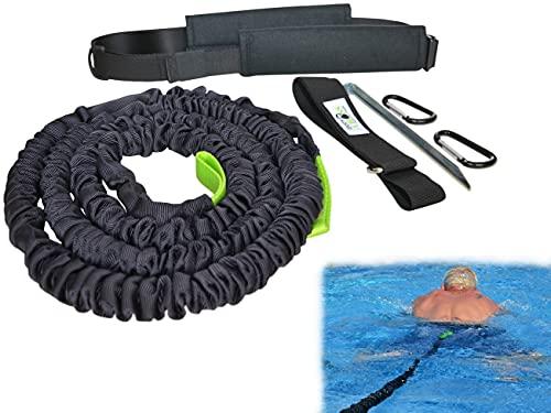 BodyCROSS Allenatore di Nuoto con Cintura Imbottita | Nuoto Senza Sistema controcorrente