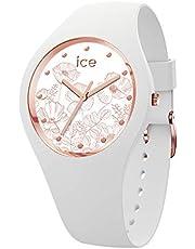 Ice-Watch - ICE flower Spring white - Montre blanche pour femme avec bracelet en silicone