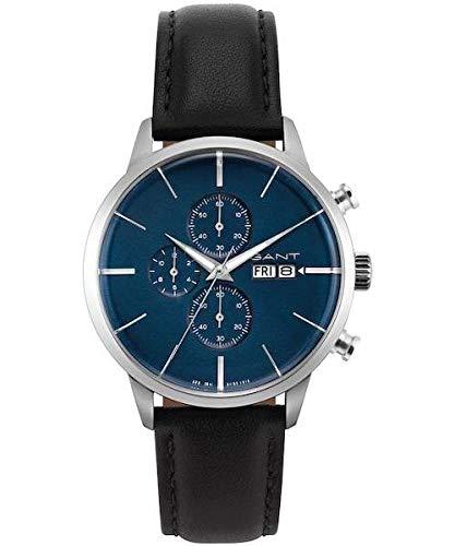 Gant Reloj Analógico para Hombre de Cuarzo con Correa en Cuero 7630043923627