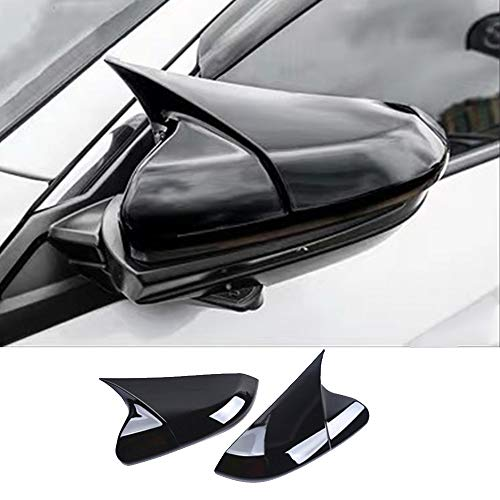 XITER Electroplated Finishes Style Rearview Mirror Cover Door Side Moulding Trim Generation For Honda 10th Civic 2016 2017 2018 2019 2020