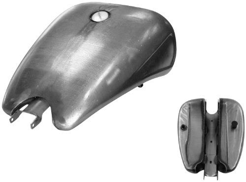 Bikers Choice 2in. Stretched Steel Gas Tank - 4 Gal. 012823