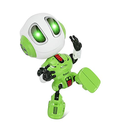 Touber Toys for 3-8 Year Old Boys Girls, Mini Robots for Kids Gifts for Boys Girls Age 2-7 Robot Toys for Boys Girls Age 4-9 Christmas Girls for 3-8 Year Old Kids Stocking Stuffers for Kids - Green