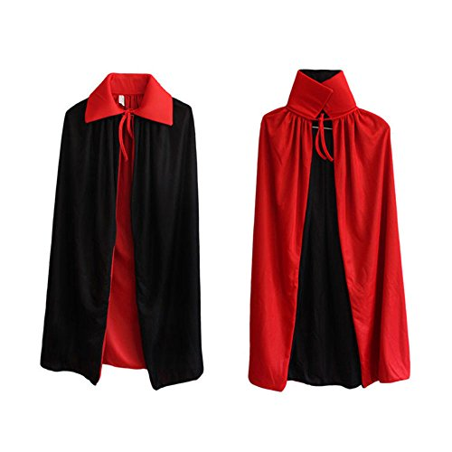 Ecloud Shop® Child Halloween Zauberer Zaubermantel Vampirumhang Theater Requisiten