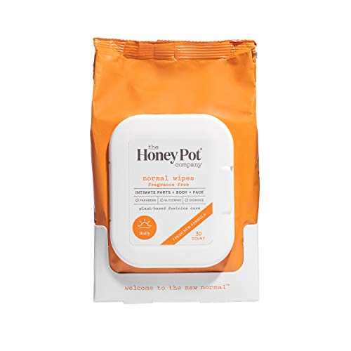 The Honey Pot Company Feminine Wipes - Normal, 30 Count