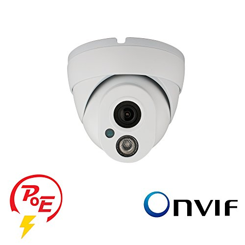 Cvision HD 1080P P2P IP Camera Vandal Dome IP Camera Outdoor, PoE, Onvif