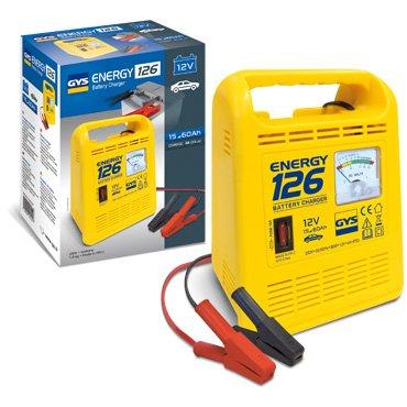 GYS Energy 126 Chargeur de batterie traditionnel