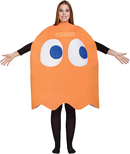 Adult Pac-Man Clyde Costume Orange