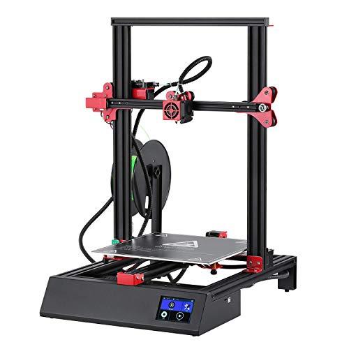 Imprimante 3D, 3D Printer Couleur Smart Touch de 3,5 '' Impression Volume d'Impression avec Mise à Niveau Automatique