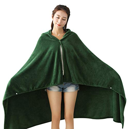 KUYG Umhang Nap Mittagspause Decke The Wing of Freedom Flanell Kapuze Umhang Cosplay Kostüm Cape Schal