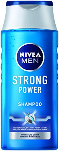 Nivea Men Strong Power Shampoo, per stuk verpakt (1 x 250 ml)