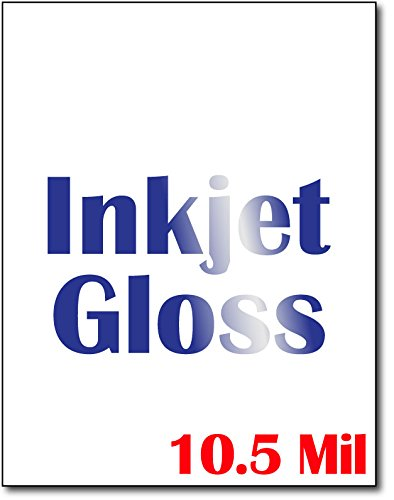 Heavyweight Inkjet Gloss Cardstock (Single Sided Gloss) - 50 Sheets - For Inkjet printers only