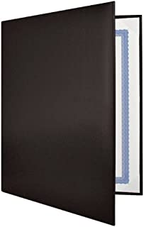 Black Padded Diploma Covers - Set of 25