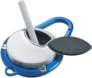 ペンギンライター 携帯灰皿 カラビナ アッシュトレイ アルミ ブルー